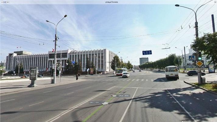 Жвижение транспорта московская ленина