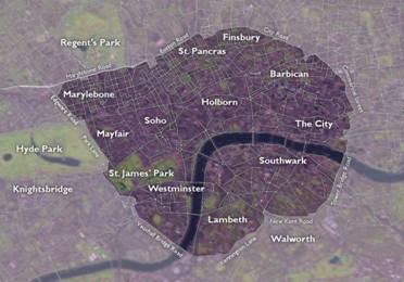 Лондон. Внутренне кольцо