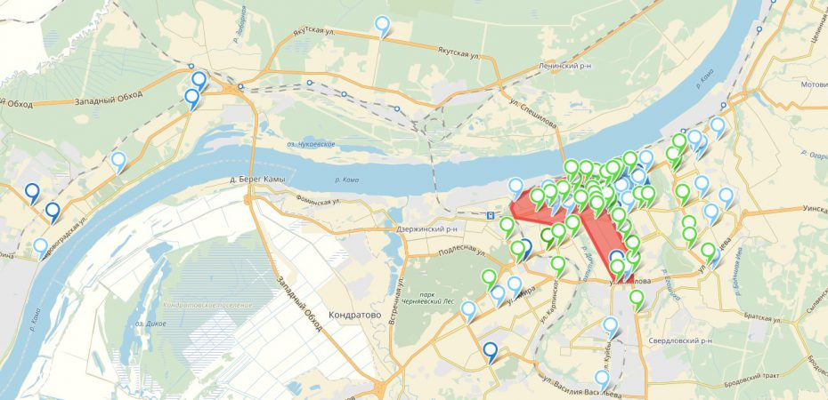 Анализ эффективности функционирования улично-дорожной сети города Перми в 2017 году