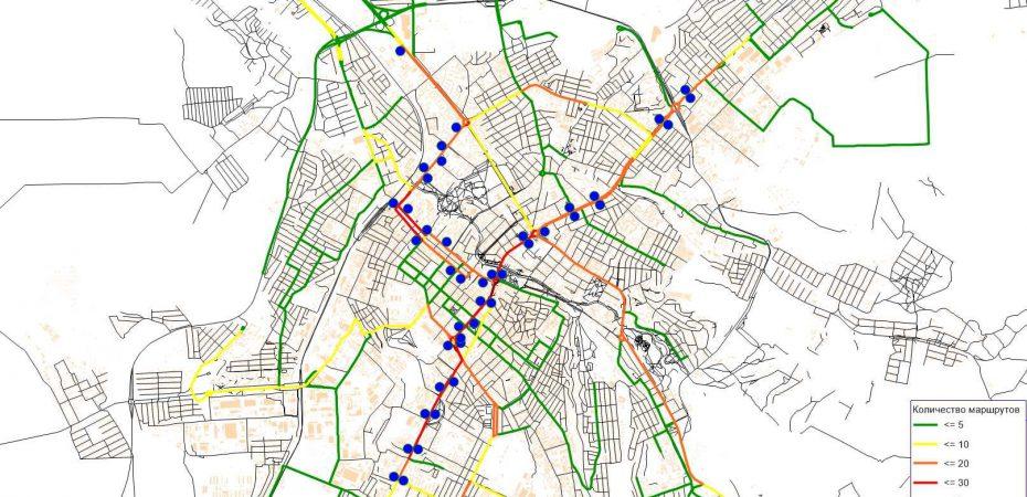 В Симферополе завершена разработка проекта оптимизации маршрутной сети городского автомобильного и электрического транспорта общего пользования